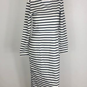 J. Crew Striped Dress Size 6